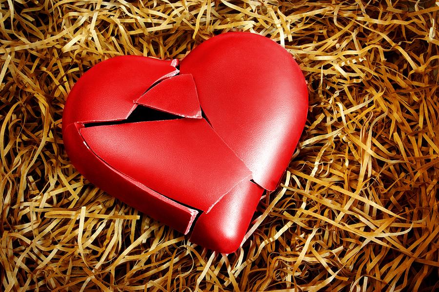 bigstock Photo with a broken heart prot 16537610